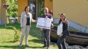 Förderverein erhält 1.000-Euro-Spende von Volksbank Nordthüringen