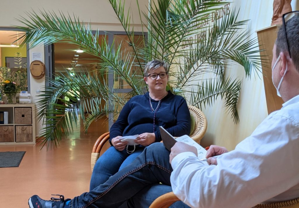 Antje Wolf-Sauer im Interview.